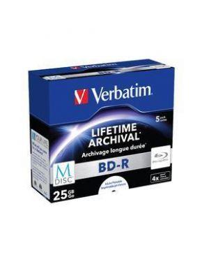 M-disc bd-r -25gb- 4x cf.5pz.print Verbatim 43823/5 23942438236 43823/5