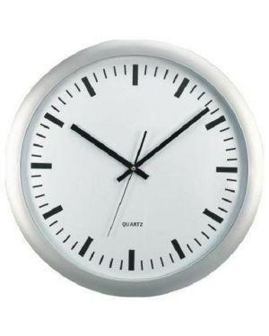Orologio da parete big Ø 46cm fondo bianco methodo V150700 8018727507001 V150700_60979 by No