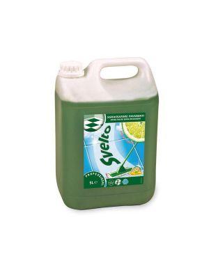 Detergente pavimenti sgrassatore svelto 5 litri limone 7514364 7615400060832 7514364_60997 by Esselte
