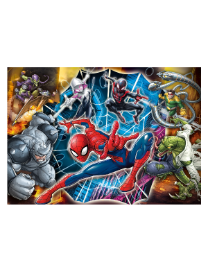 Puzzle maxi 104: spider man Clementoni 23716 8005125237166 23716 by No