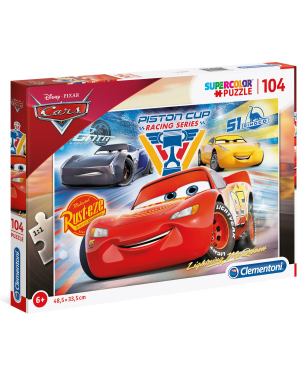 104-  cars: piston cup legends Clementoni 27072 8005125270729 27072 by No