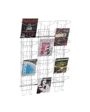 Espositore da parete a 21 tasche a4 in metallo alba DDFIL21M 3129710011582 DDFIL21M_61367 by Alba