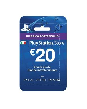 Playstation live cards hang 20 euro Sony 9894636 711719894636 9894636