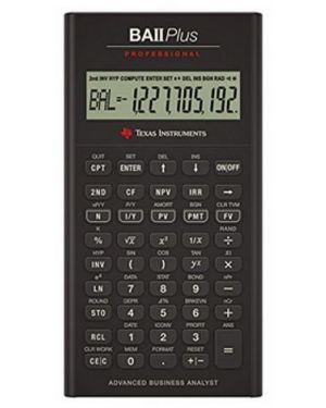 Ba ii plus professional Texas Instruments BAIIPLUSPROF 3243480015172 BAIIPLUSPROF