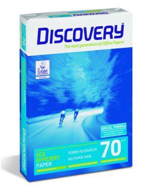 Carta bianca discovery 70 a4 70gr 500fg CONFEZIONE DA 5 Discovery70A4_61533 by Esselte