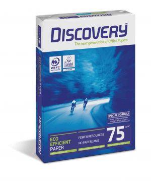 Carta bianca discovery 75 a3 75gr 500fg CONFEZIONE DA 5 Discovery75A3_61535 by Esselte