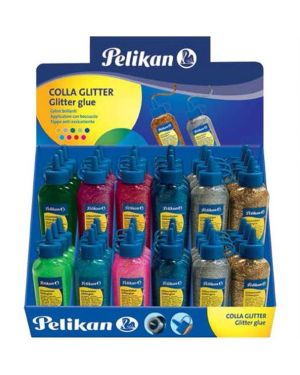 Glitter glue 60 ml. oro Pelikan 300278 4012700505699 300278