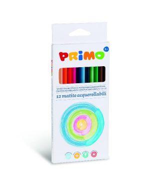 12 matite acquerellabili 2 9mm Primo 545MTRI12A 8006919005459 545MTRI12A