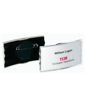 portabadge con clip - spilla Durable 8128-58 4005546889344 8128-58 by Durable