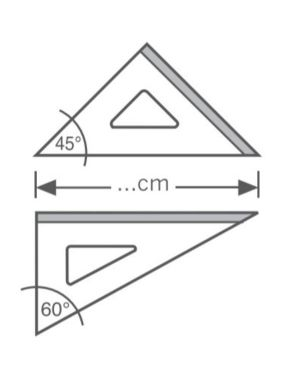 Squadra 45° 30 cm Arda KCP4530 8003438022578 KCP4530