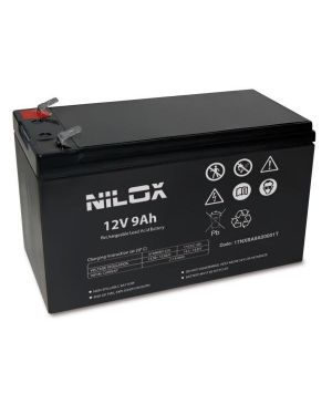 Batteria ups 12v 9ah Nilox 17NXBA9A00001T 8059616337927 17NXBA9A00001T