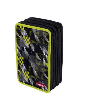 Astuccio 3 zip speed nero Carrera C565  C565