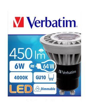 Led gu10 6.0w 4000k 450 lumen Verbatim 52308 23942523086 52308