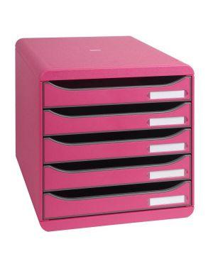 Cassettiera big box plus rosa Exacompta 309784D 9002493421738 309784D