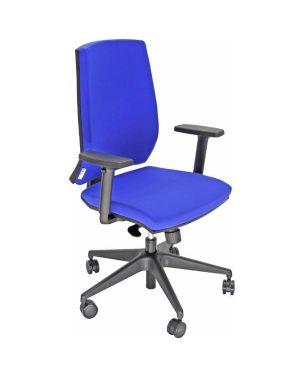 Sedia oper larissa blu+bracc regol Unisit LR1SE/BR2D/EB 8050043747280 LR1SE/BR2D/EB