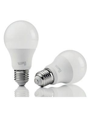 Led bulb e27 9 watt 4000 plus Nilox LDBLE27NW09W12 8056326622442 LDBLE27NW09W12