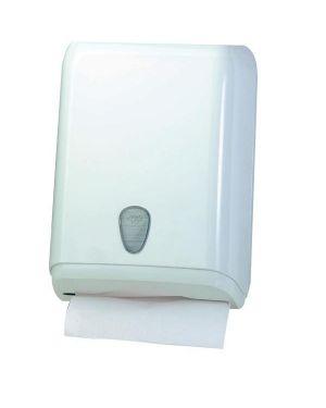 Dispenser asciugamani piegati bianco mar plast A59211 8020090004261 A59211_64272
