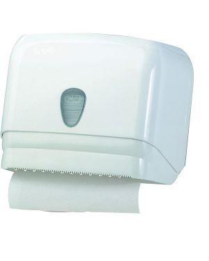 Dispenser asciugamani in rotolo -  fogli bianco mar plast A60111 8020090004421 A60111_64273
