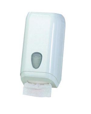 Dispenser carta igienica in fogli bianco mar plast A62011 8020090005121 A62011_64275 by Mar Plast
