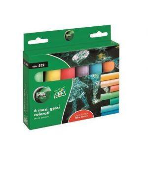 maxi gessi colorati Lebez 532 8007509031377 532