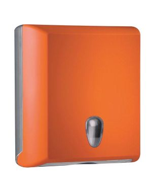 Dispenser asciugamani piegati c - z orange soft touch A70610EAR 8020090037696 A70610EAR_64278 by Mar Plast
