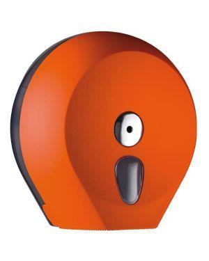 Dispenser carta igienica midi jumbo orange soft touch A75610AR 8020090037757 A75610AR_64282 by Esselte