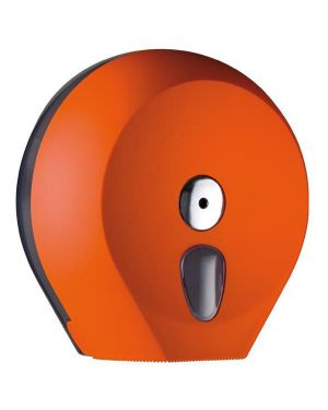 Dispenser carta igienica midi jumbo Ø23cm orange soft touch A75610AR 8020090037757 A75610AR_64282 by Mar Plast
