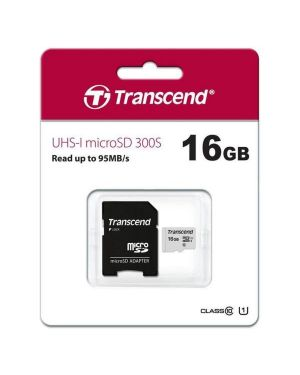 16gb uhs-i u1 microsd with adapter Transcend TS16GUSD300S-A 760557842064 TS16GUSD300S-A