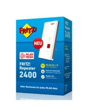 Fritz! repeater 2400 internatio Avm 20002887 4023125028878 20002887 by No
