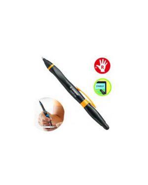Penna a sfera stabilo smartball per destrorsi nero/arancio 1852/4-41-1_64377