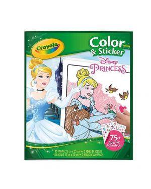 Album color sticker principesse Crayola 04-0202 71662302023 04-0202