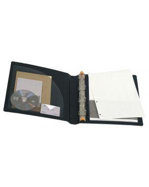 Raccoglitore manager 4anelli d30mm a4 maxi in ppl nero exactive 51234E_64492