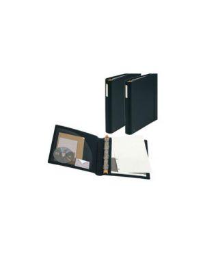 Raccoglitore manager 4anelli d30mm a4 maxi in ppl nero exactive 51234E_64492 by Exacompta