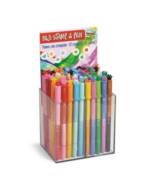 Esp60 penne con stampino 8 soggett Niji 61105 8002787072838 61105