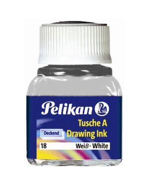 Inchiostro china523-18 bianco Pelikan 201673 4012700201676 201673-1 by Pelikan