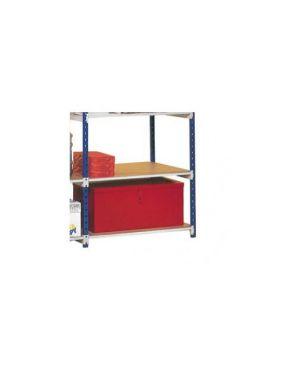 Set 5 ripiani in legno 100x35cm per scaffale paperflow K605135_64848