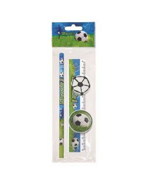 Conf.12 kit pallone matita gomma te Lebez 80898A 8007509092910 80898A