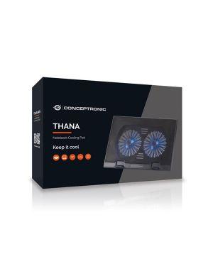 Alzanotebook 2 ventole 17 Conceptronic THANA02B 4015867205860 THANA02B