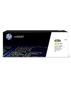 Hp 658x yellow laserjet toner HP Inc W2002X 192545650748 W2002X