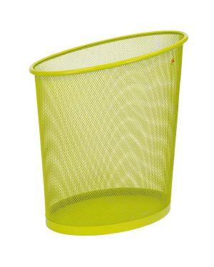 Cestino gettacarte 18lt mesh in rete metallica verde alba MESHCORB/V 3129710012787 MESHCORB/V_65184 by Alba