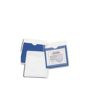 Scatola 50 tasche adesive porta assicurazione auto 1038-50_65648