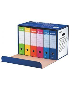 Scatola 6 registratori g85 assortiti oxford box 390785110_66175 by Esselte