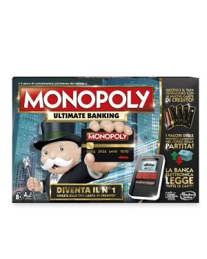 Monopoly ultimate banking Hasbro B6677103 5010994969158 B6677103