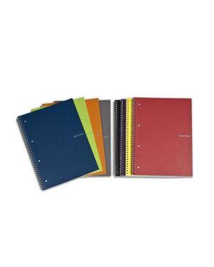 ecoquaa4 spir. 4 fori-5 mm blu Fabriano 11297052 8001348176824 11297052_67250 by Fabriano