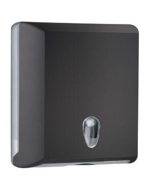 Dispenser asciugamani piegati c - z nero soft touch A70610ENE 8020090036743 A70610ENE_67394 by Mar Plast