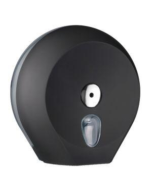 Dispenser carta igienica midi jumbo black soft touch A75610NE 8020090037184 A75610NE_67395 by Esselte