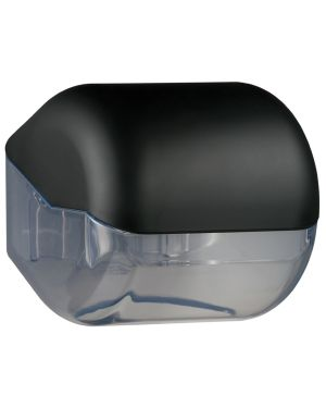 Dispenser carta igienica rt - interfogliata nero soft touch A61900NE 8020090038389 A61900NE_67396