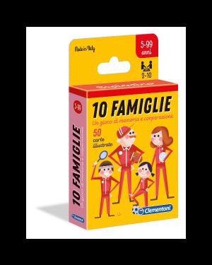 Carte 10 famiglie Clementoni 16172B 8005125161720 16172B by No