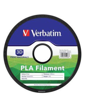 Filament 3d pla 1.75mm silver 1gk Verbatim 55319 23942553199 55319