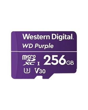 Microsd wd purple 256gb classe 10 Western Digital WDD256G1P0A 718037864549 WDD256G1P0A
